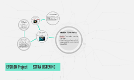 EPSILON Project - EXTRA LISTENING