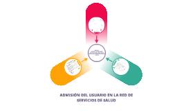 Copy of ADMISIÓN DEL USUARIO EN LA RED DE SERVICIOS DE SALUD parte 2