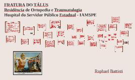 FRATURA DO TÁLUS