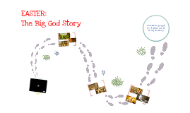 Easter 2013-The Big God Story