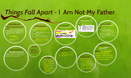 Things Fall Apart - I  Am Not My Father