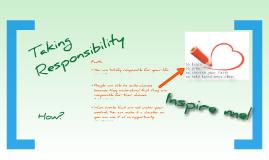 Taking Responsibility - Peichun Tang