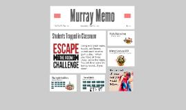 Murray Memo