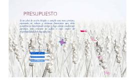 PRESUPUESTO Y CRONOGRAMA DE MERCADOTECNIA