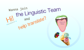 How to join the Linguistic Team's Translations