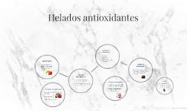 Helados antioccidantes