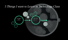 Things I want to learn in technology