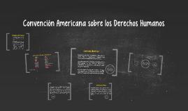 Convención Americana sobre los Derechos Humanos