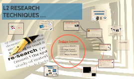 L2 INTRO TO RESEARCH