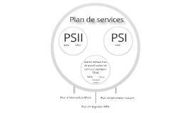 Plan de services - schéma statique