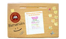 BIENVENIDA - DESARROLLO PERSONAL 2016