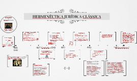 HERMENÊUTICA JURÍDICA  CLÁSSICA