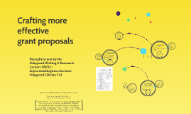 More effective grant proposals