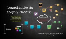 Comunicación de Apoyo y Empatia.