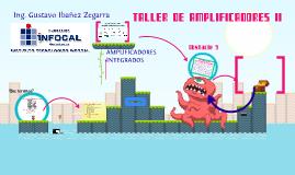 Presentacion de la Materia Taller de Amplificadores II
