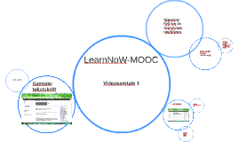 LearnNoW-MOOC