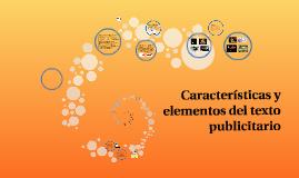 Características y elementos del texto publicitario