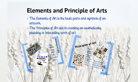 Elements and Principles of Arts