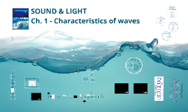Copy of Chapter 1: Characteristics of Waves