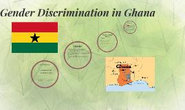 Gender Discrimination in Ghana
