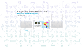 Air quality in Guatemala City