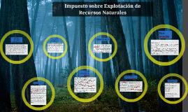 Copy of Impuesto sobre Explotación de Recursos Naturales