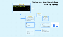 89. Math Foundations