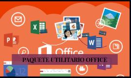 PAQUETE UTILITARIO OFFICE