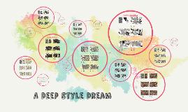 A Deep Style Dream