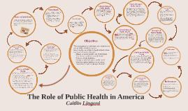 The Role of Public Health in America