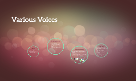 Various Voices