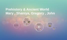 Prehistory & Ancient World