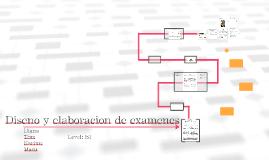 Diseño y elaboración de examenes