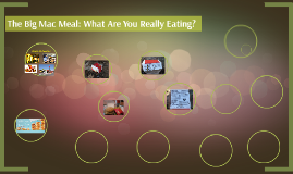 The Big Mac Meal: What Are You Really Eating?
