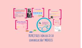 Copy of PRINCIPALES TEÓRICOS DE LA COMUNICACIÓN Y MODELOS