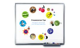 Copy of Presentation Tips