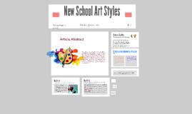 New School Art Styles