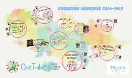 Cherished Memories 2014-2015