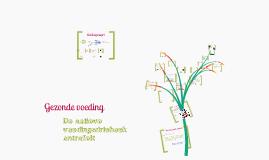 Copy of Gezonde voeding