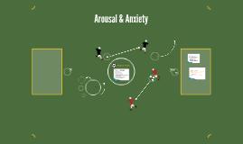 Arousal & Anxiety