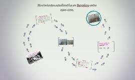 Movimientos estudiantiles en Baradero entre 1960-1970.