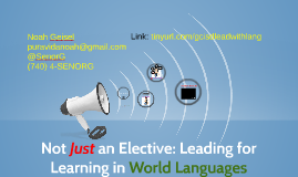 GCISD: Leading for Learning in World Languages