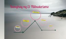 Copy of Banghay ng El Filibusterismo