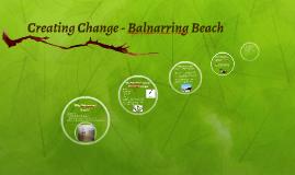 Creating Change - Balnarring Beach