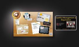 Conflict Management & Negotiation