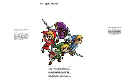 history about the legend of zelda