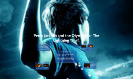 Copy Of Percy Jackson And The Olympians Lightning Thief