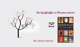 SeedFolks Poem