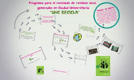 Programa para el reciclado de residuos secos