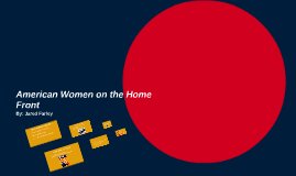 American Women on the Home Front